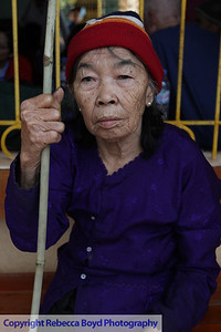 AN elderly woman in Vietnam