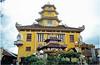 Pagoda In Cholon District Of Saigon
