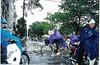 Monsoon Flooded Streets Of Saigon