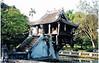 One Pillar Pagoda Similar To Boyhood Home Of Ho Chi Minh.