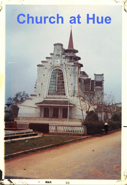 Hue Cathedral - 1968.