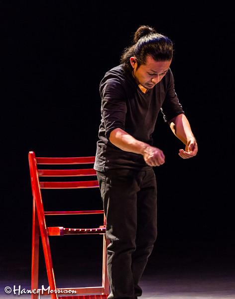 Iimuro Naoki Japanese mime actor