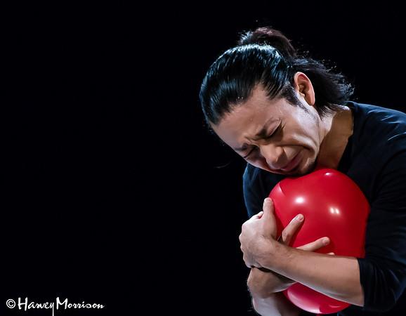 Iimuro Naoki Japanese Mime Artist in Saigon