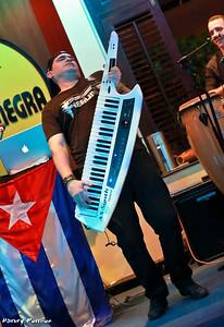 Alexei Gonzalez Cedre ~ Piano, Keytar, Vocals and band leader