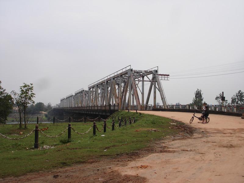 Present day Thach Han River Bridge-Quang Tri