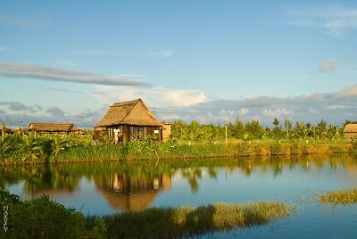 HOi AN Vietnam. Taken From the road to Cui Dai Beach