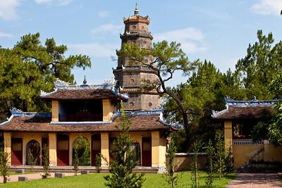Hue Pagoda on Perfume River