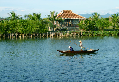 Fishing near Hoi An, Vietnam