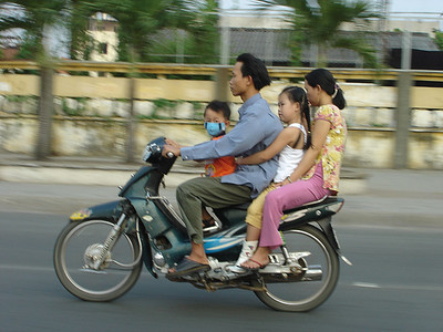 Vietnam On A Motorbike, image copyright Andrew 3000