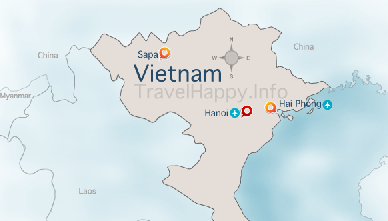Vietnam Map, image copyright _PHOTO_CREATOR_