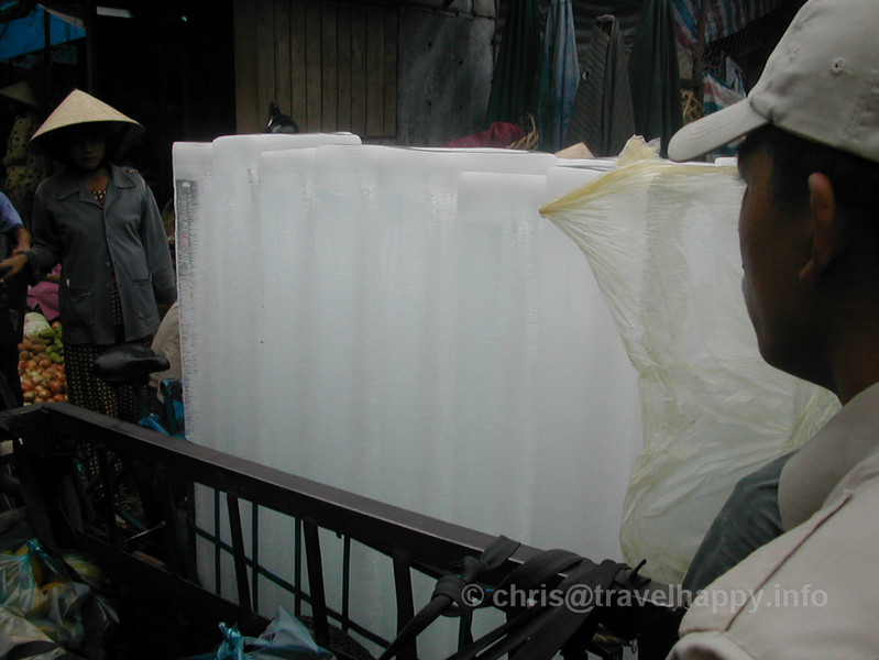 Huge Ice Blocks, Hoi An, Vietnam