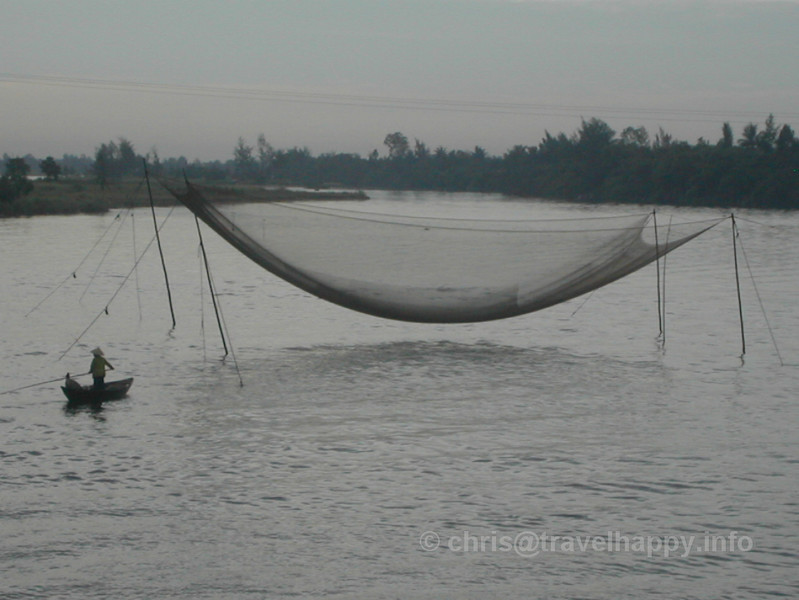 Fishing Net, Hoi An, Vietnam