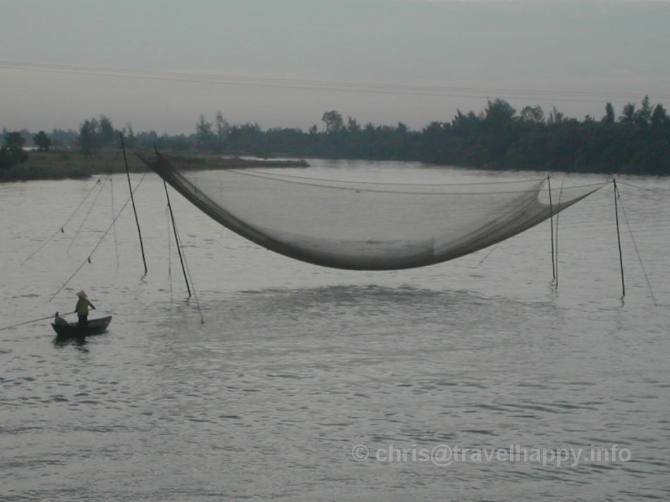 Fishing Net, Hoi An, Vietnam