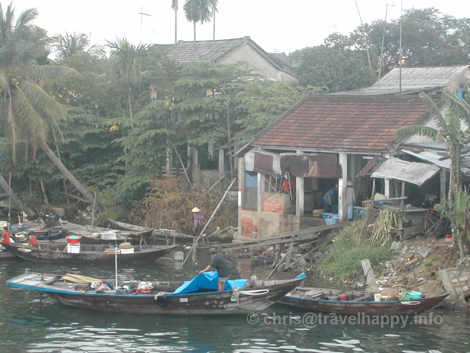 Riverside Houses, Hoi An, Vietnam