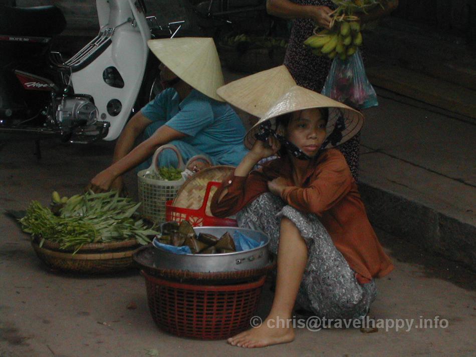 Market Scene, Hoi An, Vietnam
