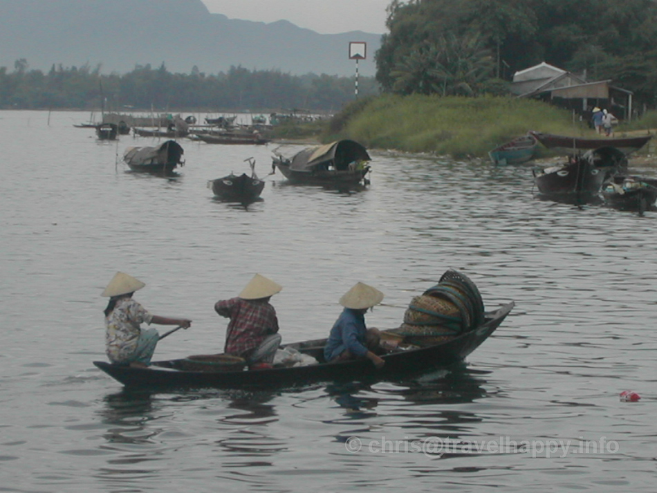 Crossing The River, Hoi An, Vietnam