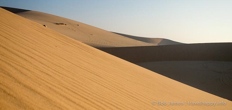The white-sand dunes of Mui Ne, Vietnam.