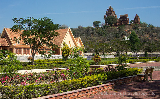 The Po Klong Garai Cham tower complex outside Phan Rang-Thap Cham