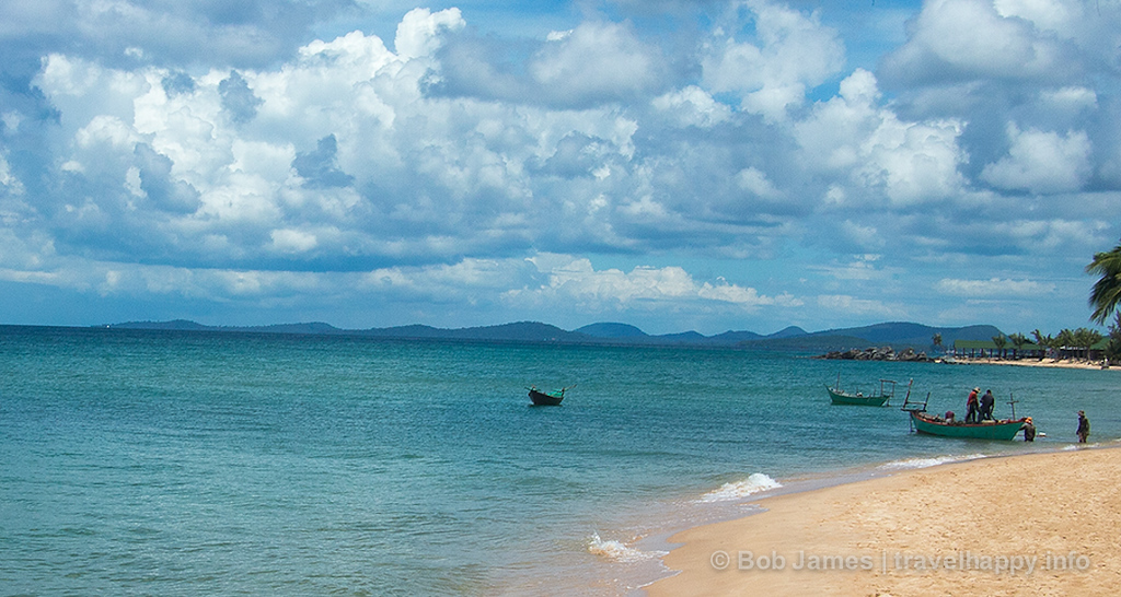 Aquamarine seas, white sand and no crowds are the hallmark of Phu Quoc's beaches.