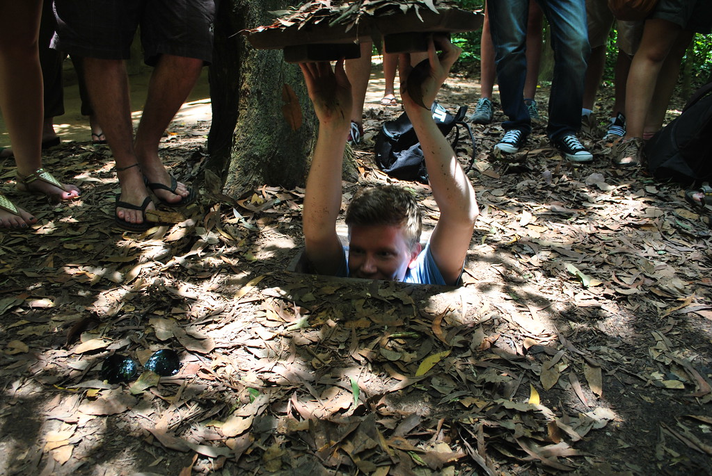 cu chi tunnels, things to do in ho chi minh