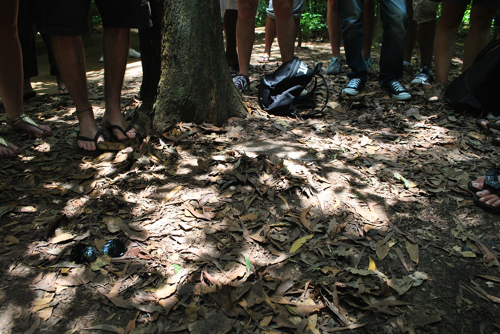 cu chi tunnels, things to do in Ho Chi Minh City