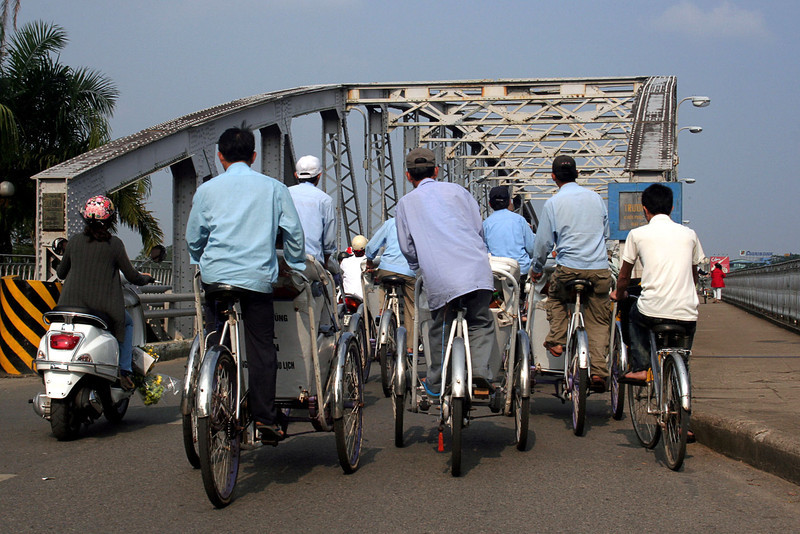 122 Cyclo ride, Hue