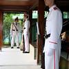 Guarding Ho Chi Minh's house #2, Hanoi