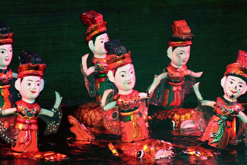 138 Water Puppet Theater,  Hanoi