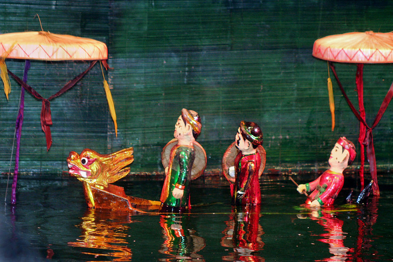 137 Water Puppet Theater,  Hanoi