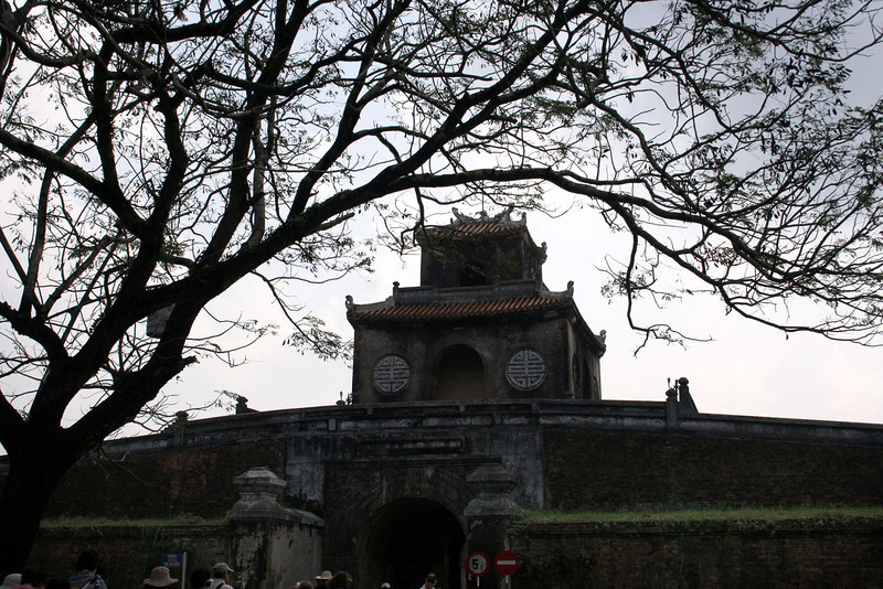 Citadel wall, Hue