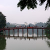 Huc Bridge, Hoam Kiem Lake, Hanoi