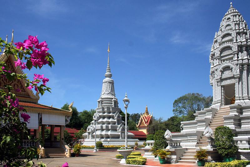 022 Silver Pagoda complex, Phnom Penh