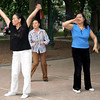 Morning dance at Hoam Kiem Lake, Hanoi