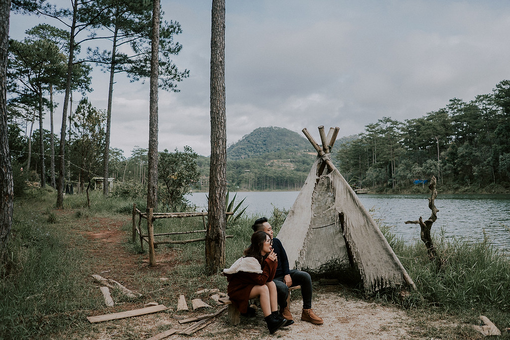 Vietnam Elopement in the wild
