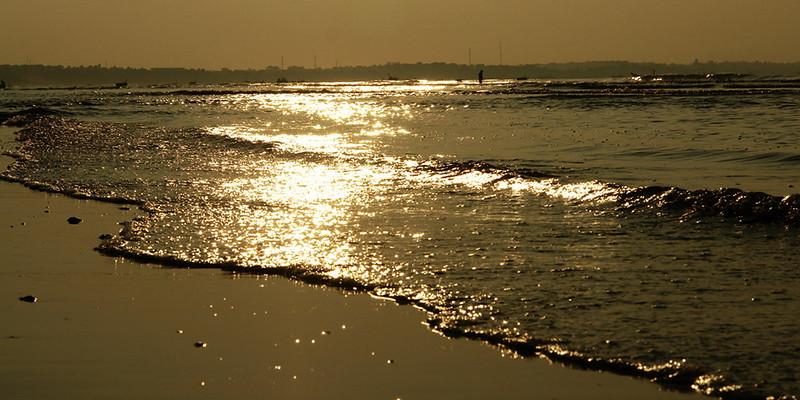 Залив Южно-китайского моря бассейна Тихого океана