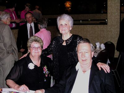 Ann Herd with Joyce and Carl Zarzyski, 2005 Gold Star Mothers Convention, Dallas