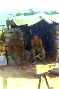 12 Bob and Sg Espiritu on hootch at Thuinder II