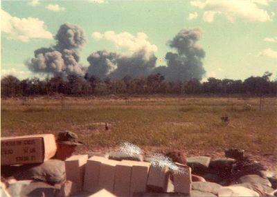 B52 strike near FSB Lorraine
