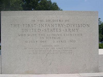 1st Division Memorial