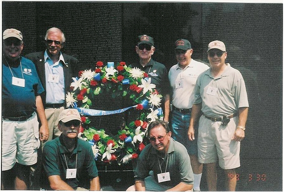 at the wall, bravo group - Ray Hahn photo