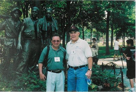 Ray Hahn, left, Rick Airoldi on right. - Ray Hahn photo