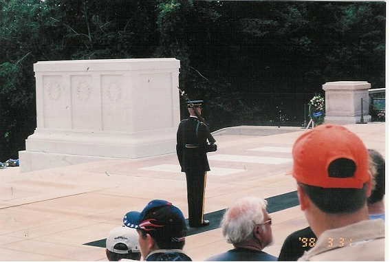 unknown solider tomb and guard - Ray Hahn photo