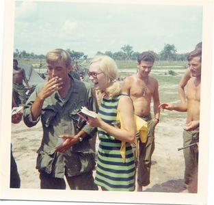 Chris Noel & Luke Gudgel 1968