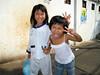Children in Saigon, Vietnam, photographed in March 2008