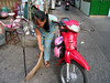Woman in Saigon, Vietnam, photographed in March 2008