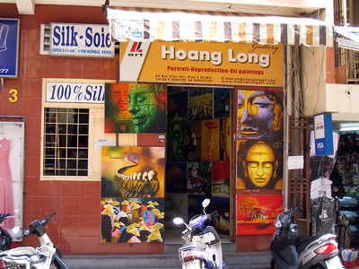 Shop in Saigon, Vietnam, photographed in March 2008