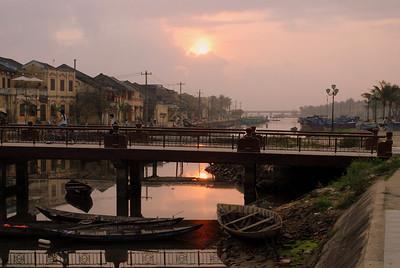 Sunrise at Hoi An, Vietnam, March 2008