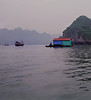 Leaving the Harbor, Cat Ba Town