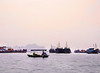 In a Small Boat, Harbor, Cat Ba Island, Vietnam