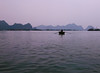 Early Morning, Rower, Cat Ba Island, Vietnam